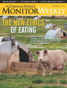The Christian Science Monitor Weekly's cover story from Dec. 8, 2014.